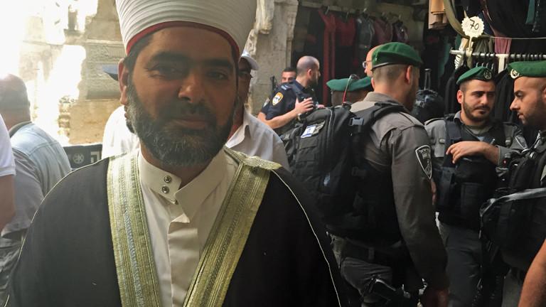 Scheich Omar Kiswani leitet die Al-Aksa-Moschee.