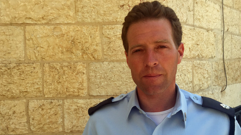 Micky Rosenfeld, Polizei Israel