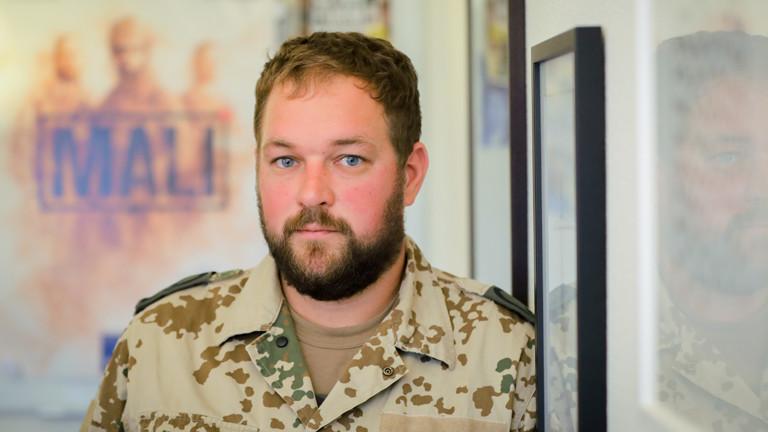 Hauptfeldwebel Peter aus der Bundeswehr-Serie Mali