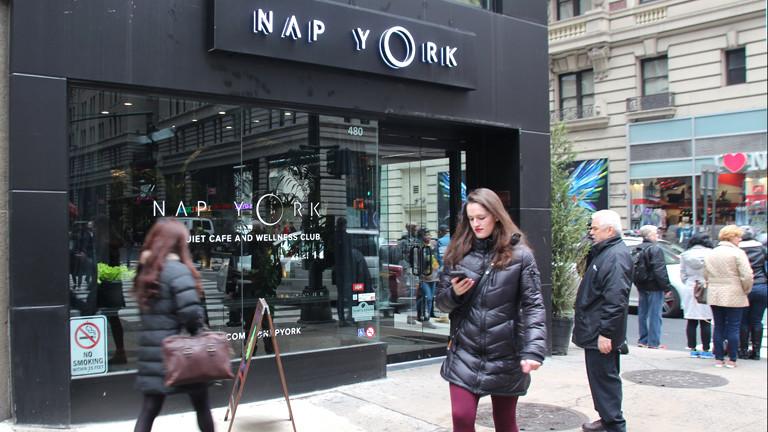 """Schlaf-Club """"Nap York"""" in New York"""