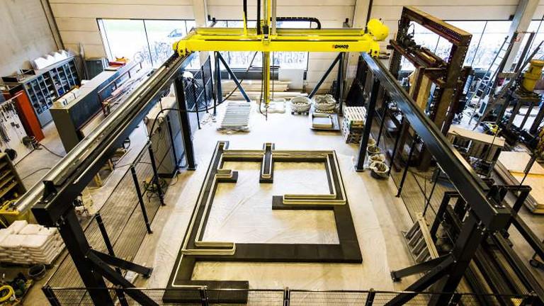 Fertigungshalle des Eindhovener Projekt Milestone