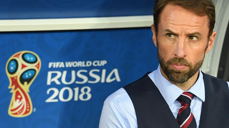 Gareth Southgate sieht gut aus bei der Fifa WM 2018.