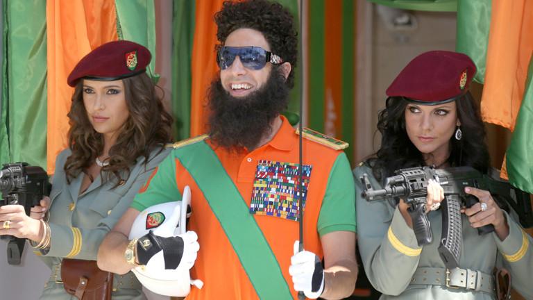 Sacha Baron Cohen als Diktator Aladeen.