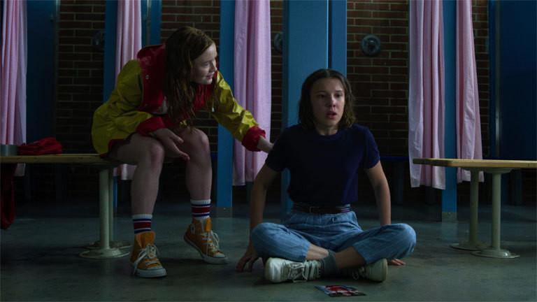 Szene aus der 3. Staffel von Stranger Things; Foto: Netflix