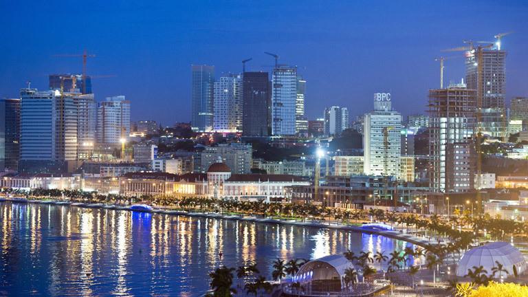 Skyline von Luanda, Hauptstadt Angolas