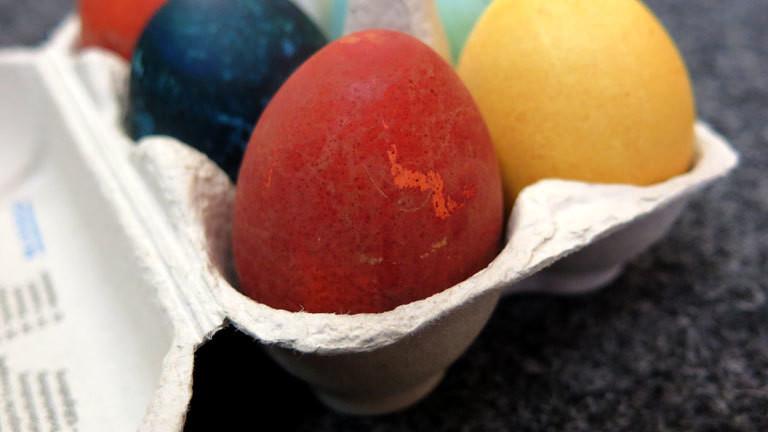 Gefärbtes Ei
