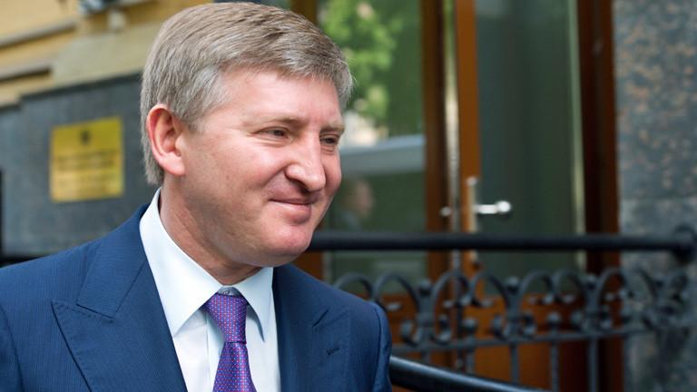 Rinat Achmetow, reichster Mann der Ukraine (dpa).