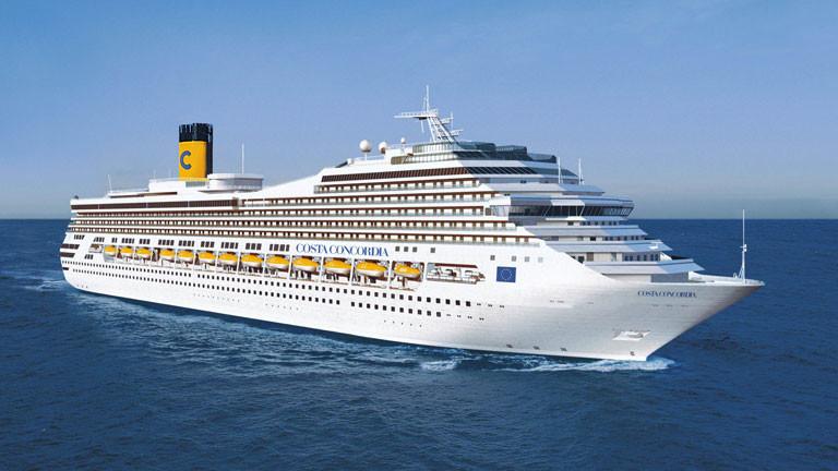 So sah die Costa Concordia 2006 bei ihrer Einweihung aus.