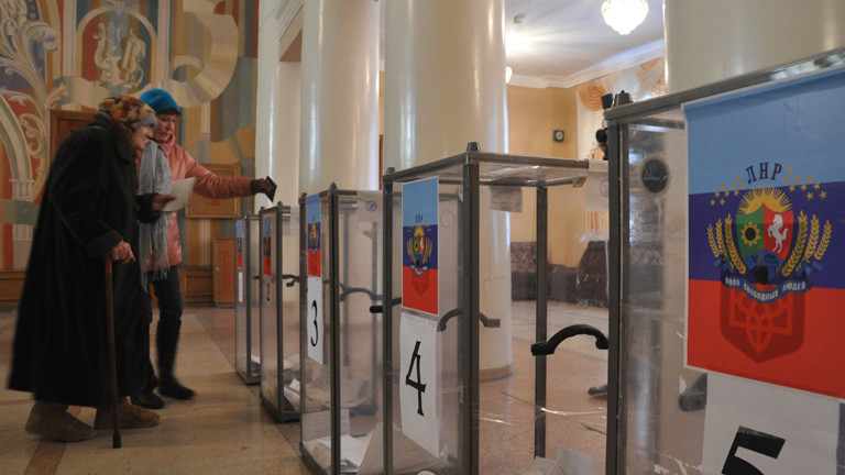 Wahl in Lugansk