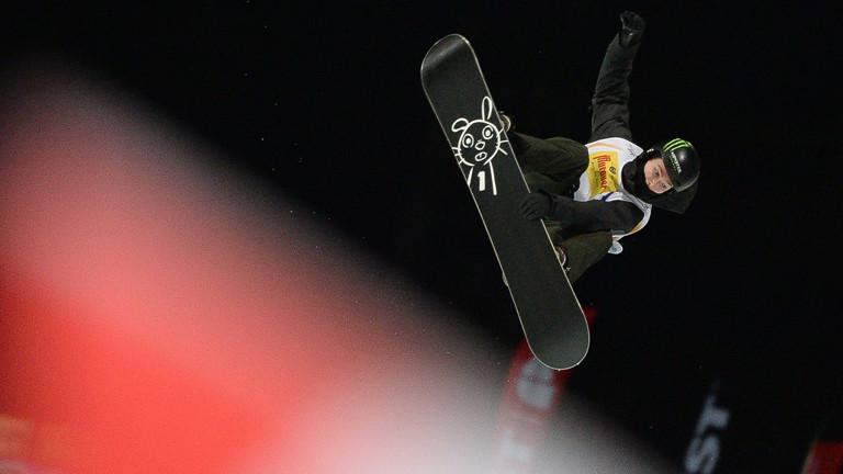 Iouri Podladtchikov im Halfpipe-Finale
