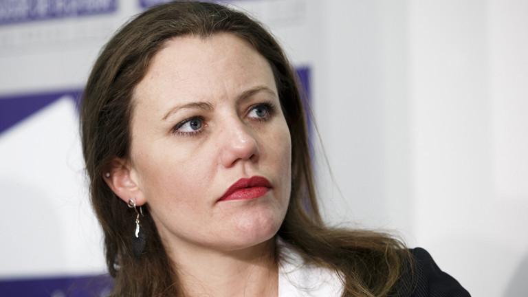 Sarah Harrison, Investigativ-Redakteurin bei Wikileaks in Genf am  26. Januar 2015