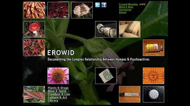 Erowid ist ein Portal, das über Drogen informiert