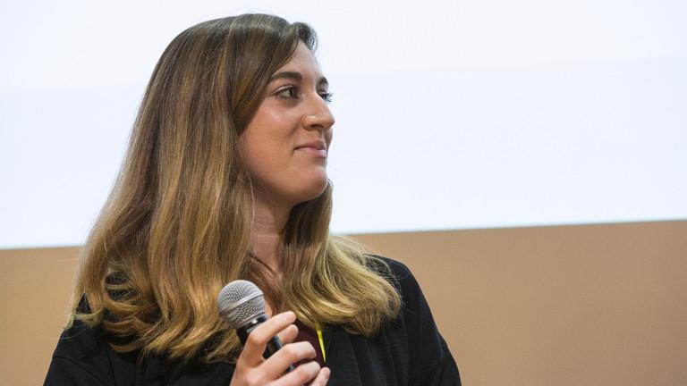 Sandra Rey, nominierte Unternehmerin für den Womens Innovators 2017 Preis