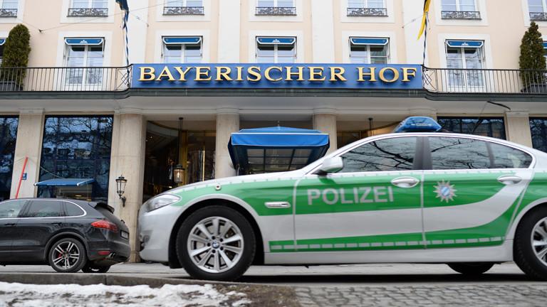 Münchner Sicherheitskonferenz: Treffpunkt 5-Sterne-Hotel