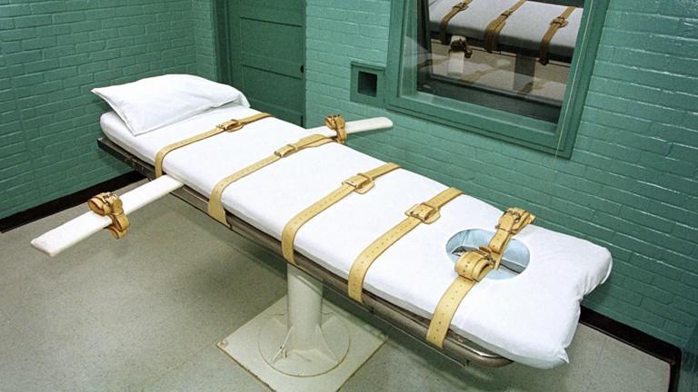 In der Todeszelle (Archivfoto von 2000) des berüchtigten Huntsville-Gefängnisses in Texas zählt der in Nürnberg geborene Raubmörder Troy Albert Kunkle die Stunden bis zu seiner Hinrichtung.