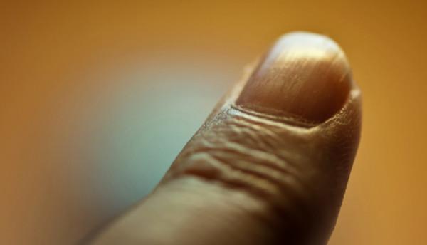 Ein Finger.