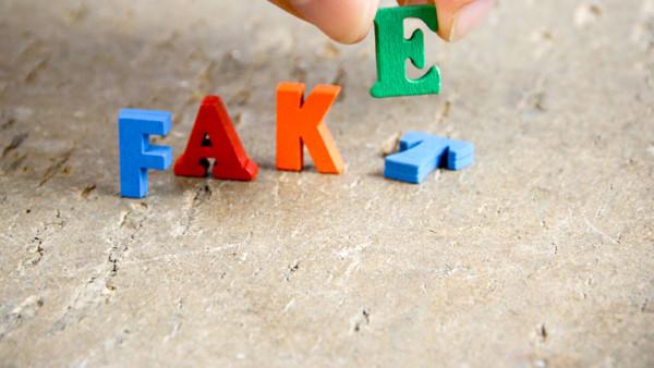 Aus dem Wort Fakten wird Fake.