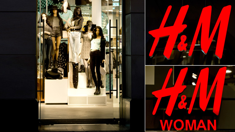 H&M Shop in München von außen