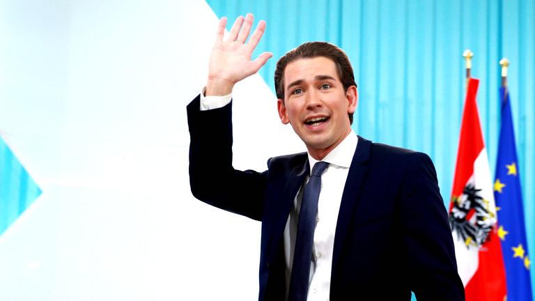 Sebastian Kurz am Wahlabend