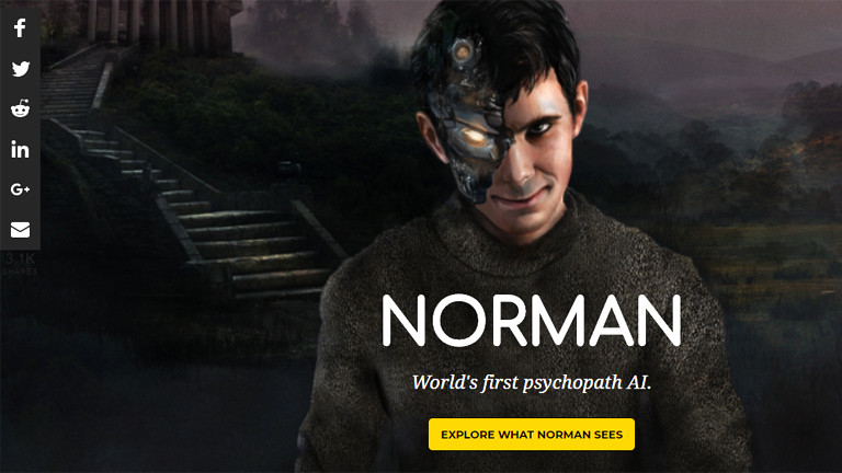 Screenshot MIT-Projekt Norman