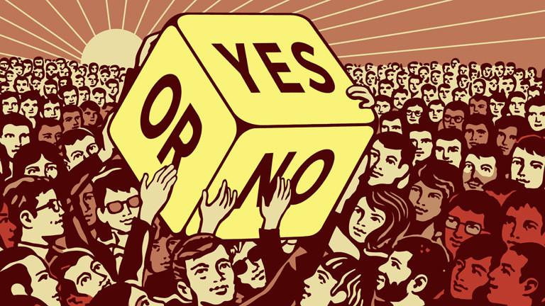 Symbolbild: Entscheidung über die Große Koalition