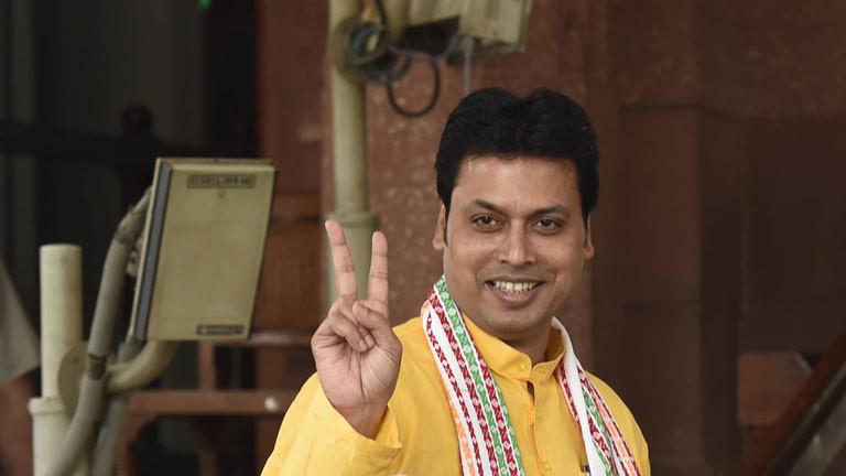 Biplab Kumar Deb, Minister in indischen Bundesstaat Tripura