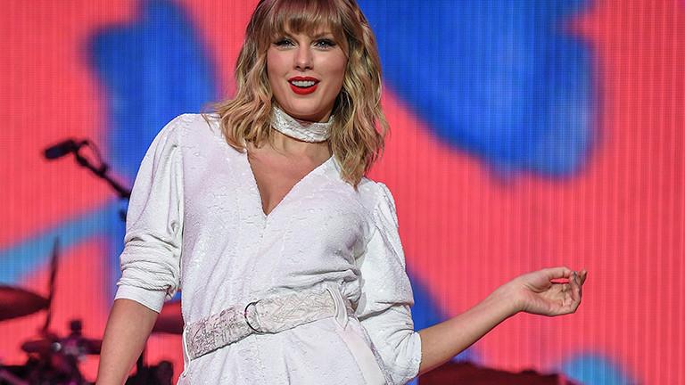 Die Sängerin Taylor Swift bei einem Auftritt in London (8.12.2019)