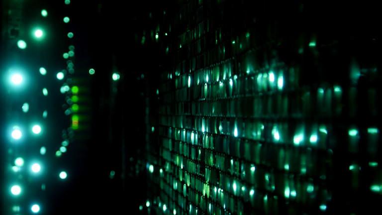 Eine Matrix-Grafik