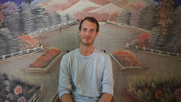 Der Autor Christopher Kloeble