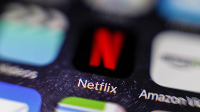 Netflix-Icon auf einem Smartphone