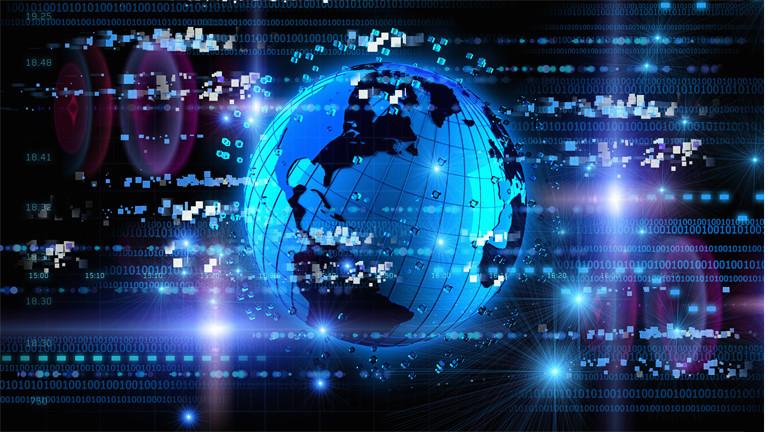 Symbolbild einer Matrix
