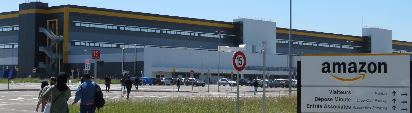 Amazon-Fabrik in Frankreich