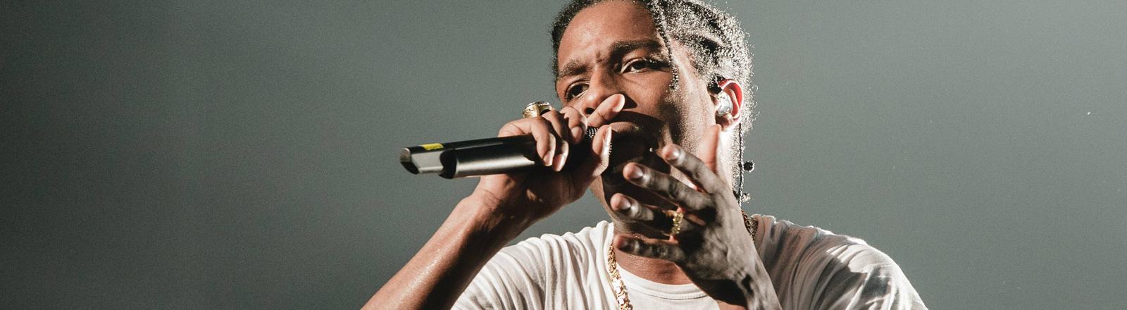 A$AP Rocky live auf der Bühne