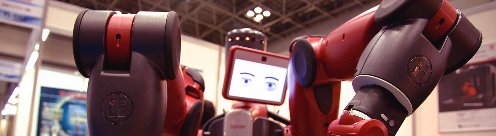 Roboter Baxter der Firma Rethink Robotics