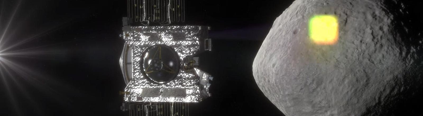 Osiris Rex fliegt zum Asteroiden Bennu