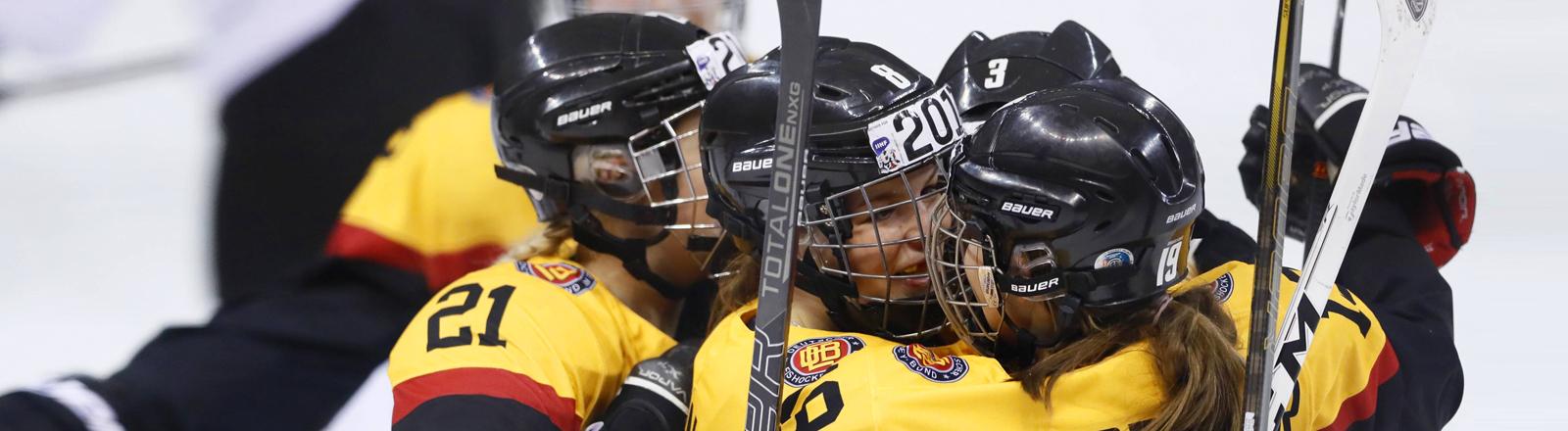 Eishockey-Nationalteam der deutschen Frauen bei der WM in USA 2017