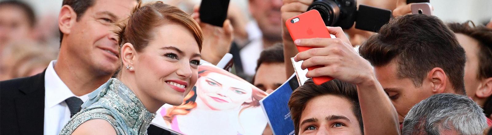 Emma Stone bei den Filmfestspielen in Venedig