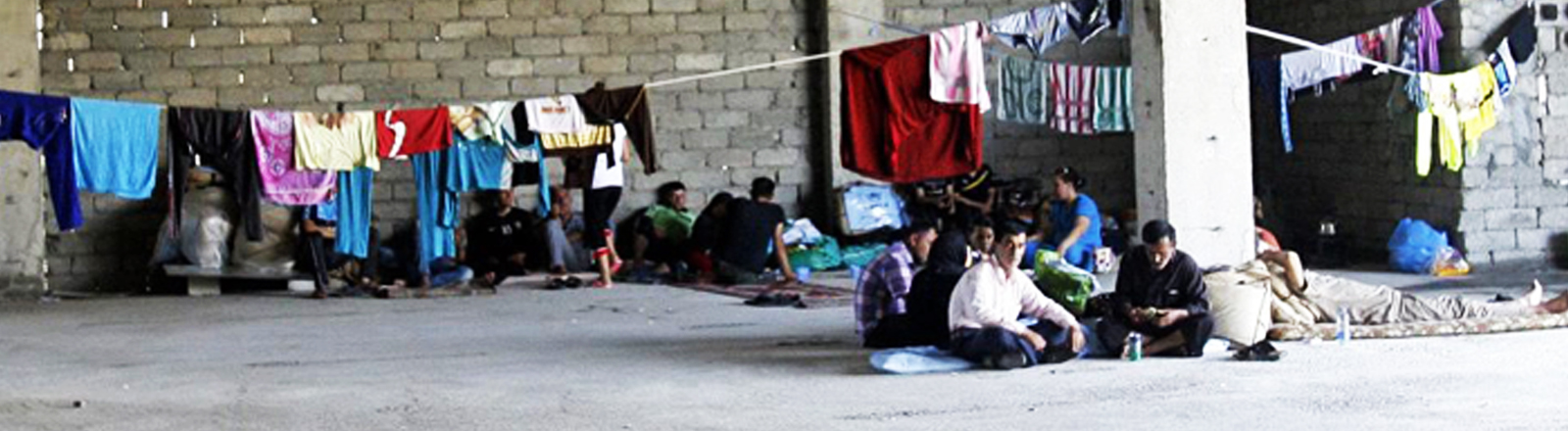 Christliche Flüchtlinge in Erbil