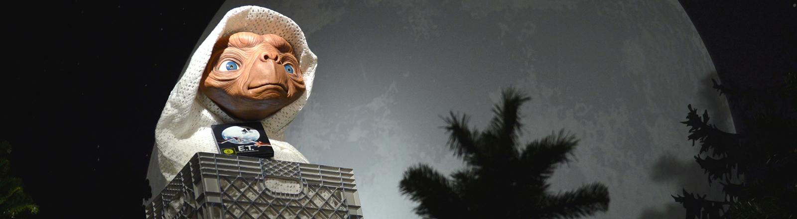 E.T. als Wachsfigur.
