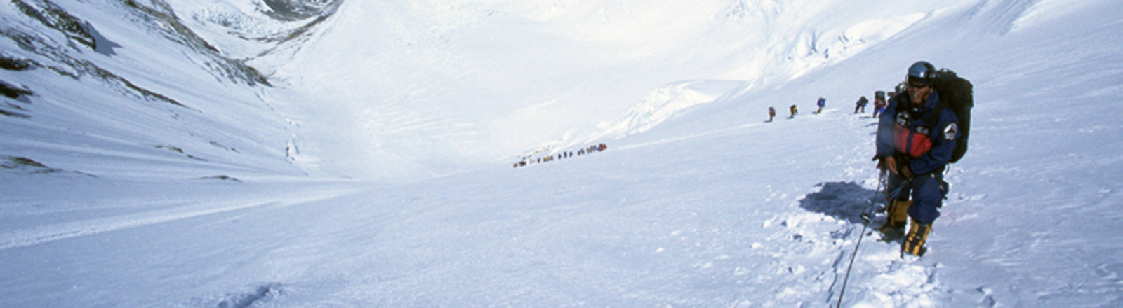Bergsteiger im Himalaya
