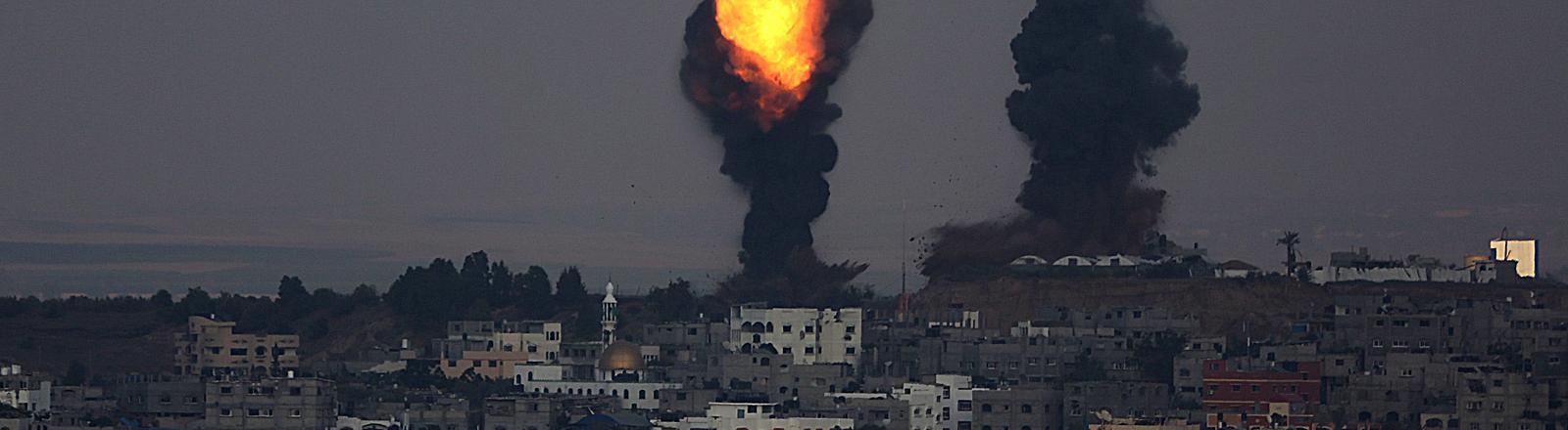 Gaza nach israelischen Angriffen