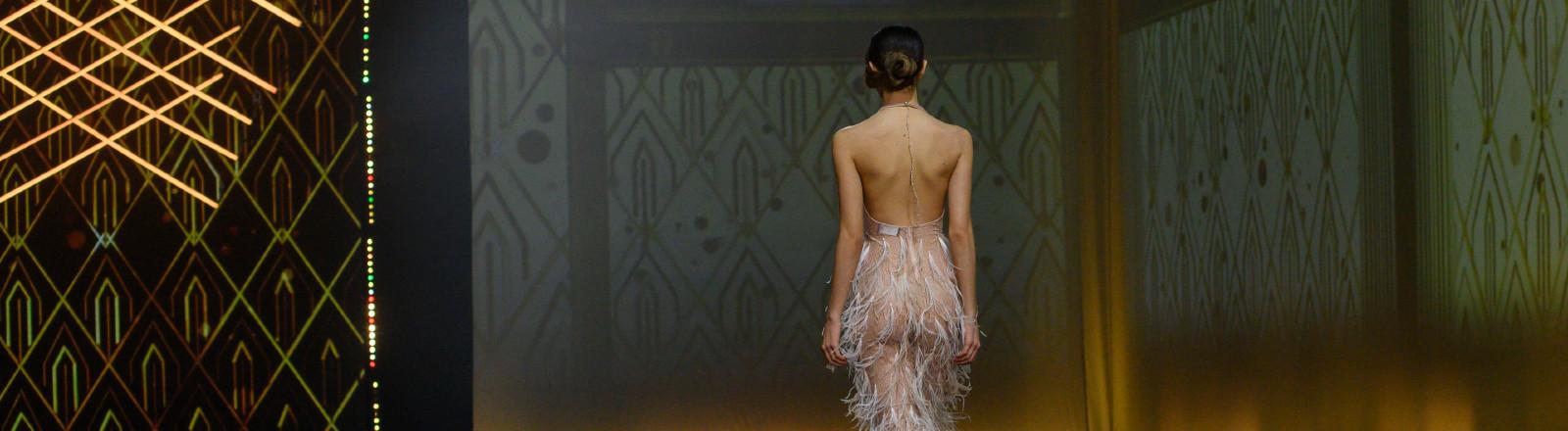 Rome: Gretel Zanotti fashion show for the Autumn / Winter 2021/2022 season