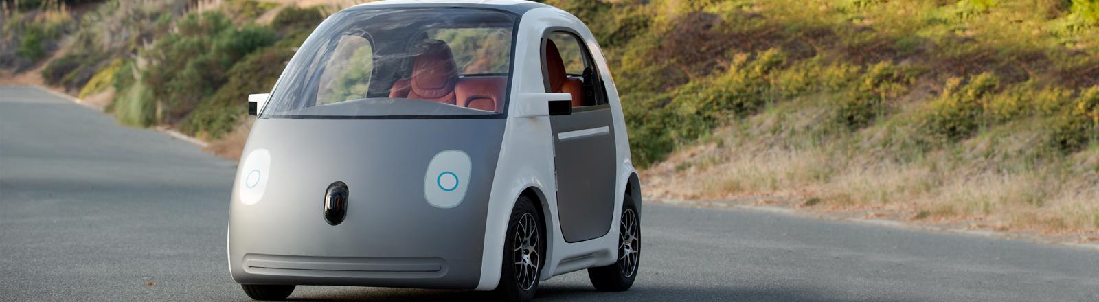 Ein selbstfahrendes Auto