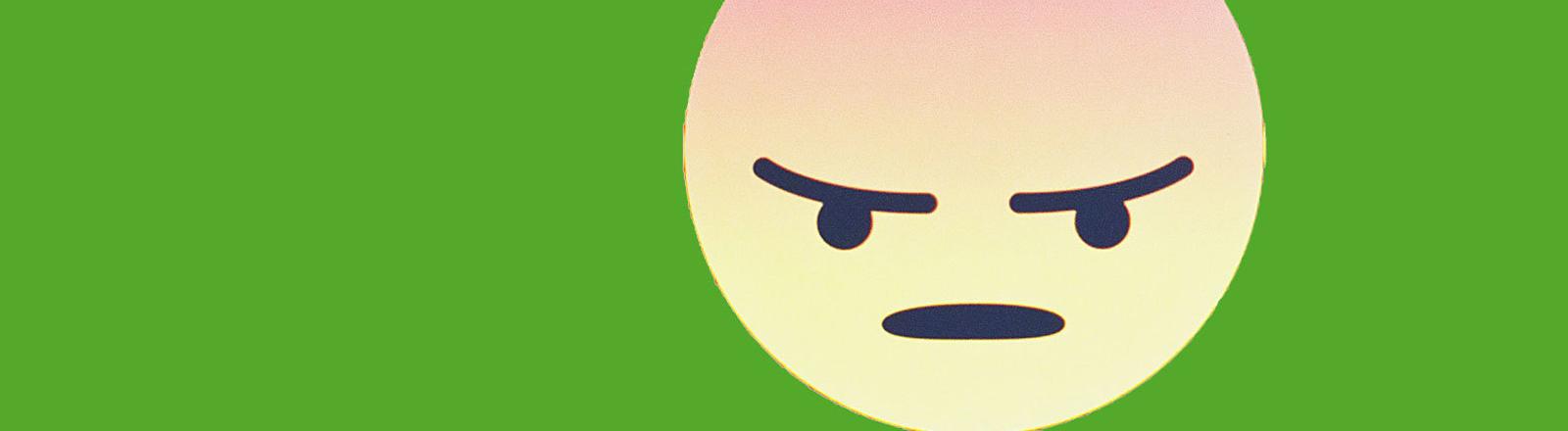 Ein Hate-Emoji