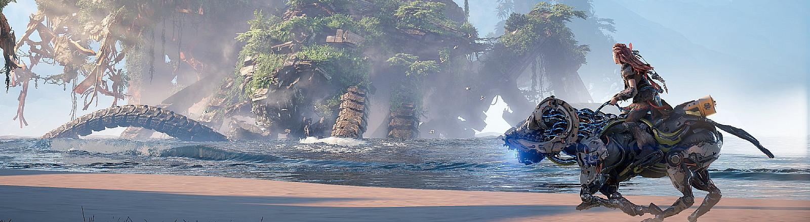 "Screenshot aus dem Game ""Horizon Forbidden West"""