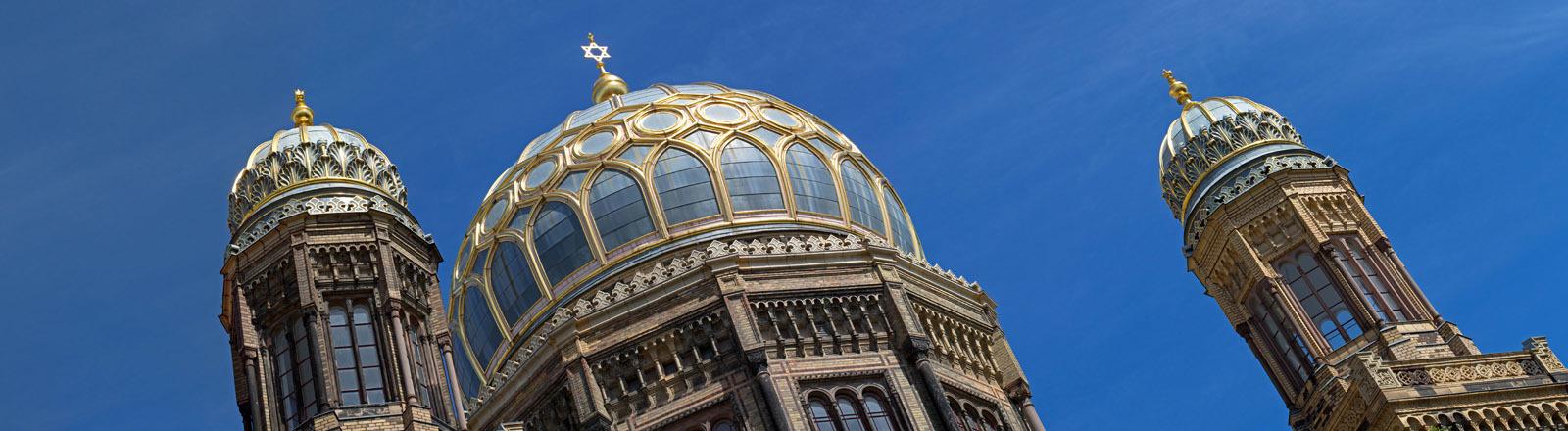 Die Synagoge in der Oranienstraße in Berlin