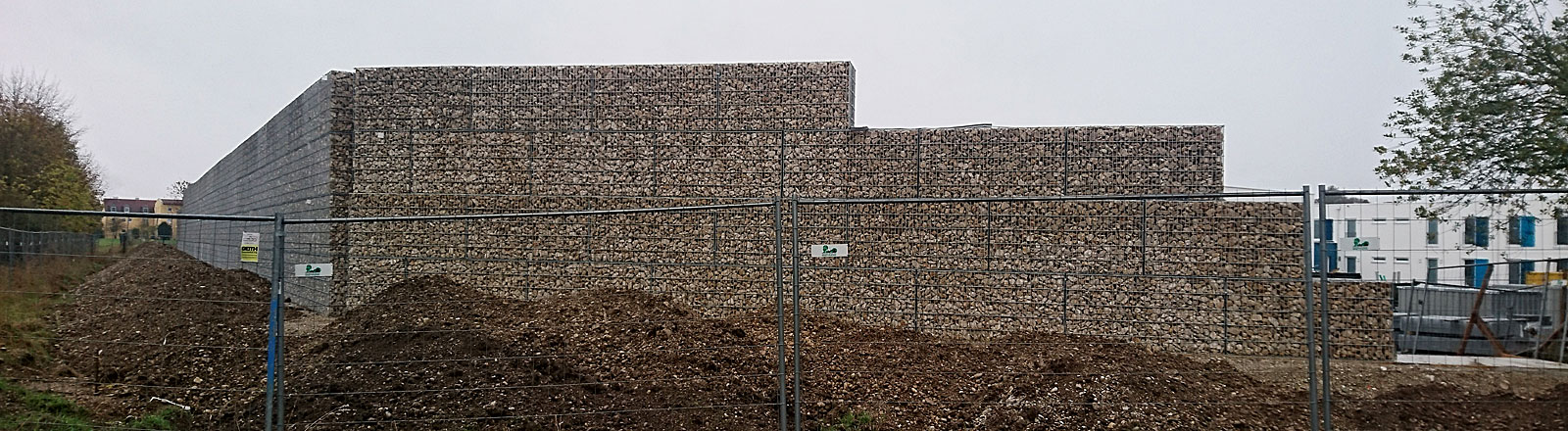 Die Mauer in Neuperlach