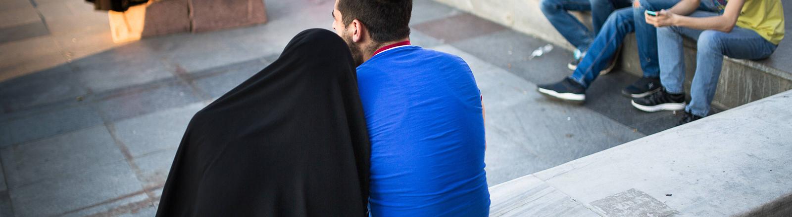 Muslimisches Paar