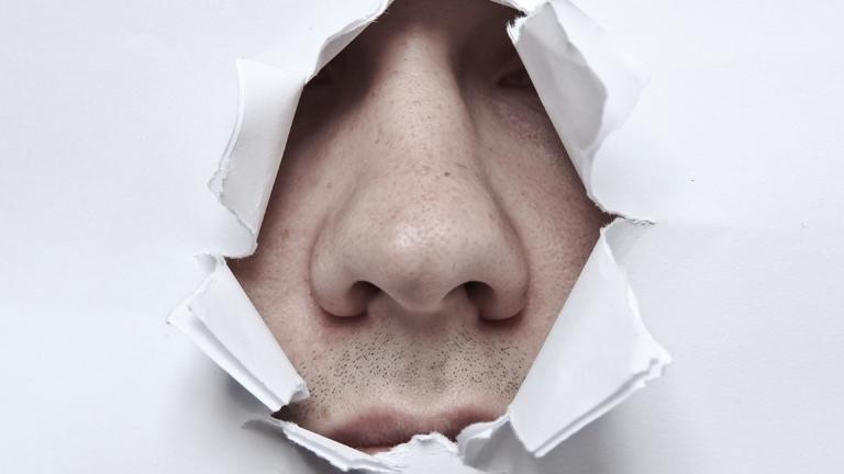Eine Nase.