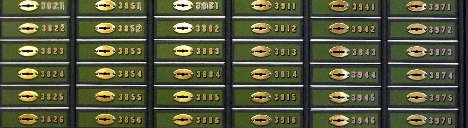 Bank-Schließfach
